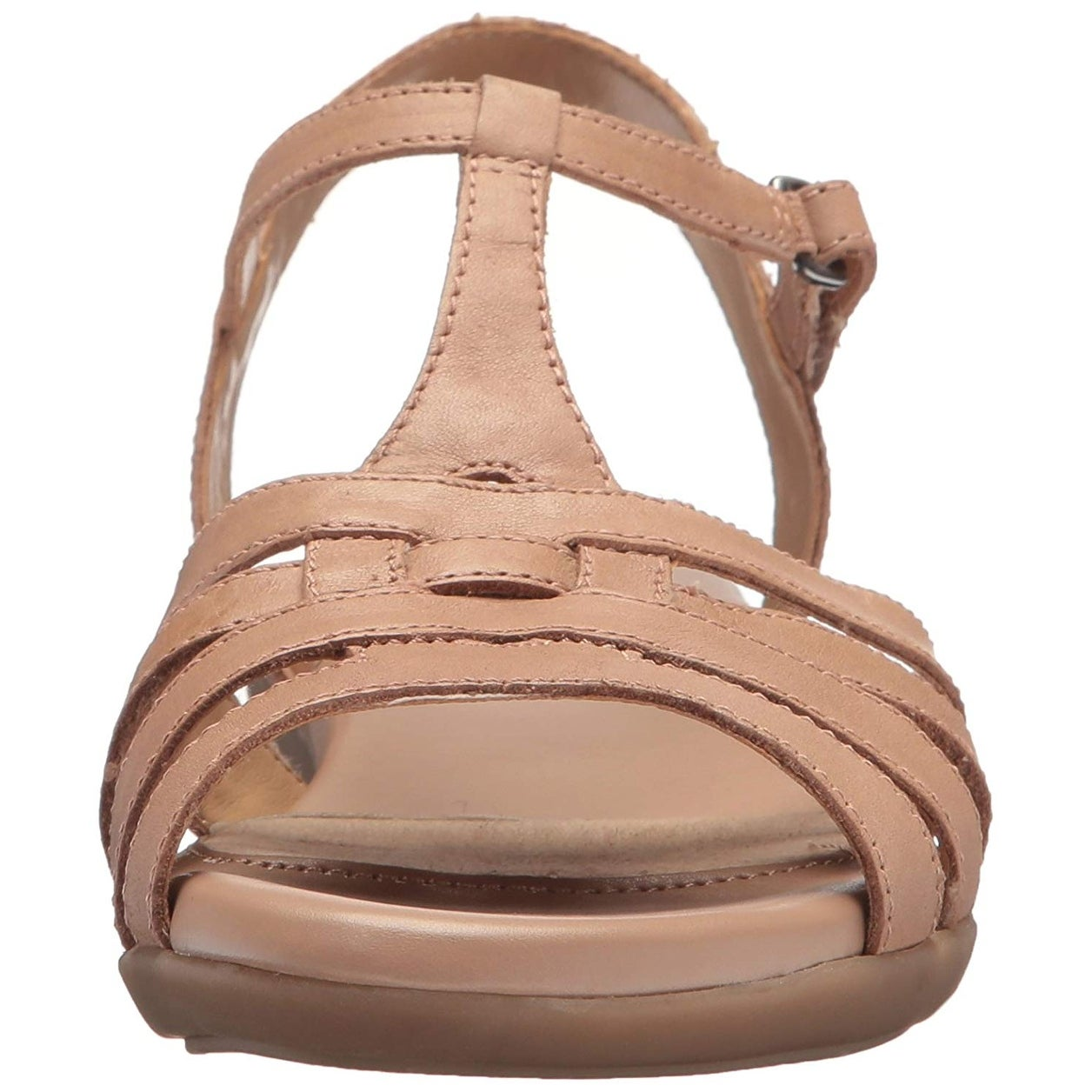 bcf554ccdcc5a Shop Naturalizer Womens Nanci Leather Open Toe Casual T-Strap Sandals -  Ships To Canada - Overstock - 21495658