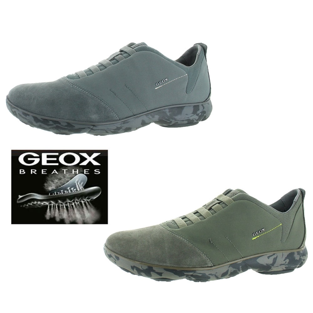 500240f81d Shop Geox Nebula Men's Leather Fashion Sneakers Shoes - Free Shipping Today  - Overstock - 19790226