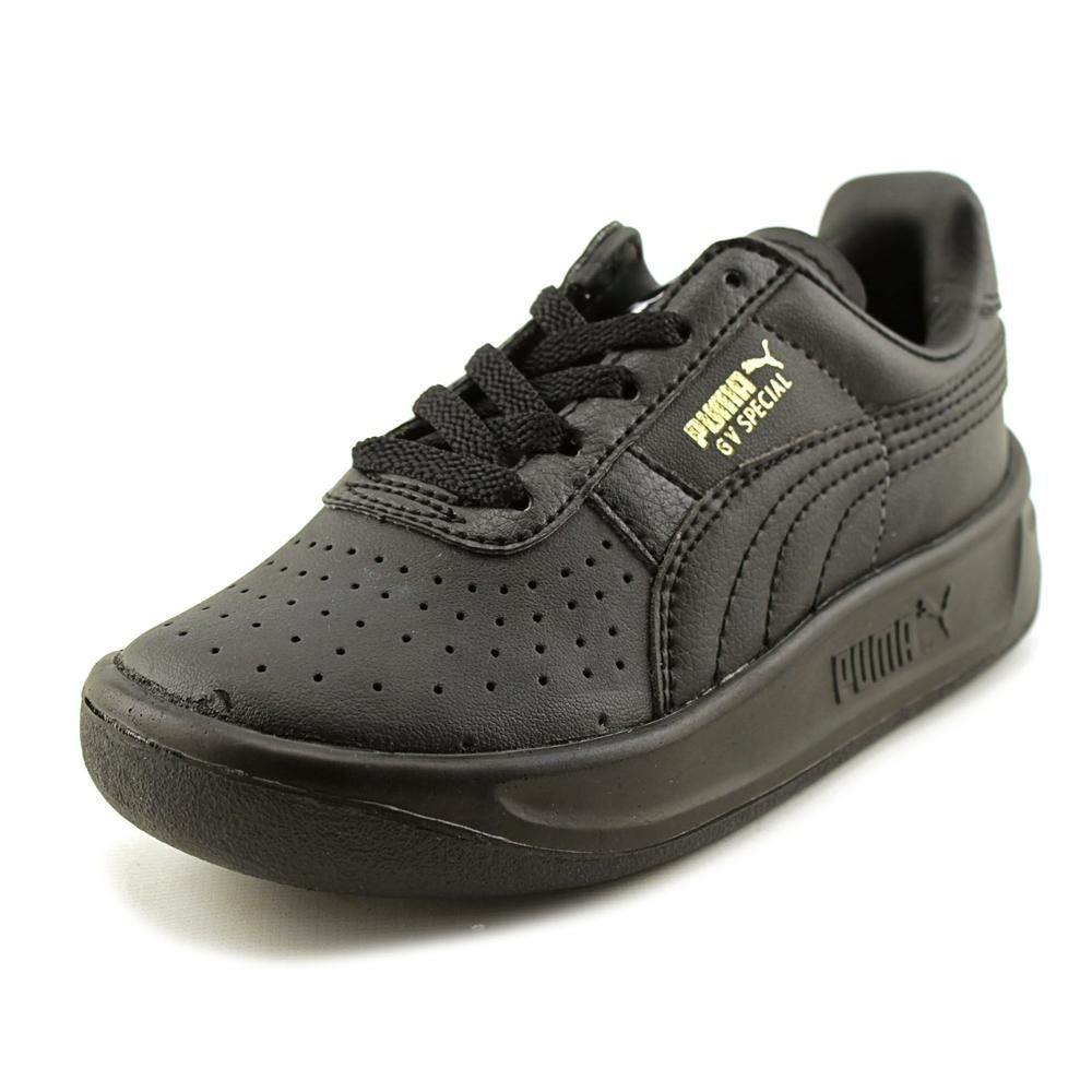 0efbab59939830 Shop Puma GV Special Jr Youth Round Toe Leather Black Sneakers - Free  Shipping On Orders Over  45 - Overstock.com - 16535701