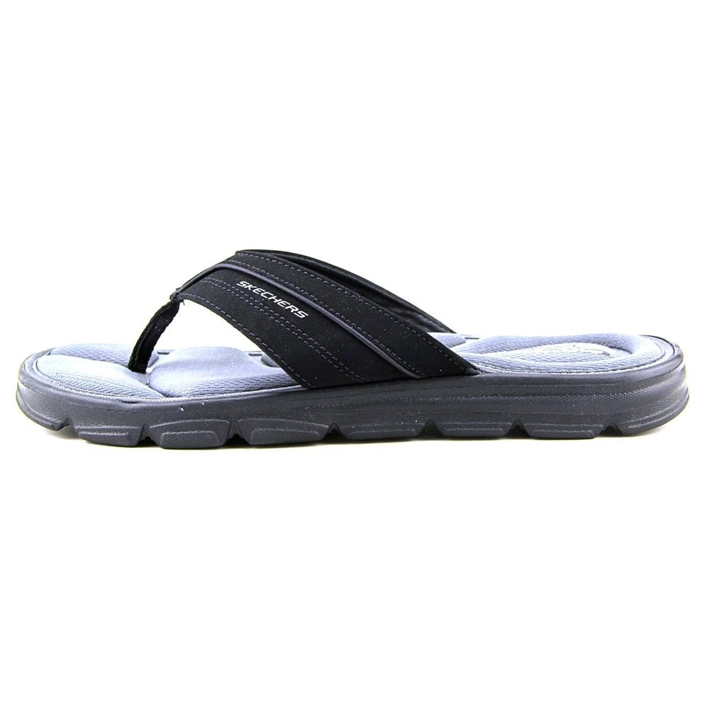 dbcbc2b16f45 Shop Skechers Wind Swell-Sand Diver Youth Open Toe Synthetic Black Flip  Flop Sandal - Free Shipping On Orders Over  45 - Overstock.com - 14382005