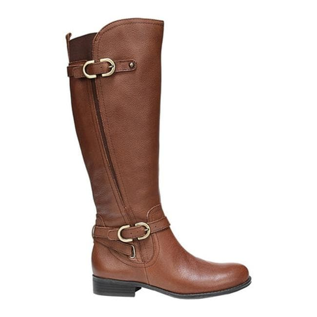 a1f14421403 Shop Naturalizer Women s Jennings Wide Calf Tall Boot Banana Bread Cairo -  Free Shipping Today - Overstock - 14529559
