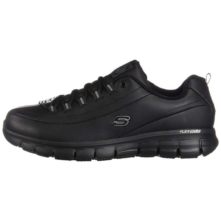 Resistant Work Sure Trickel Shoe8 Track Slip UsBlack Womens Xw Skechers Y7vbfm6gIy