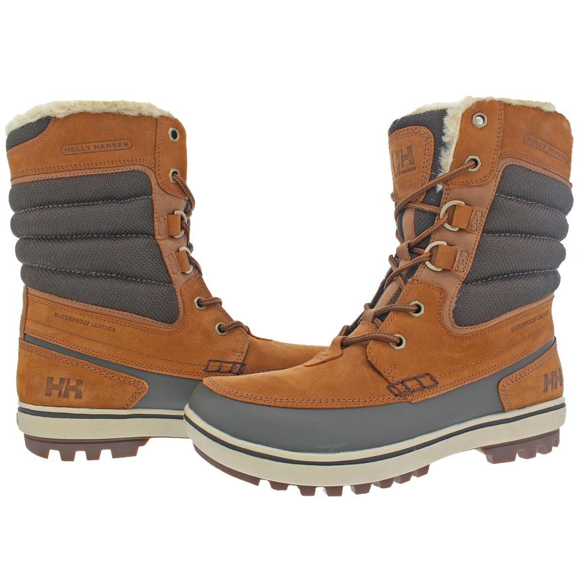 f467a0d8bcb Helly Hansen Mens Garibaldi 2 Winter Boots Waterproof HellyGrip - 9.5  medium (d)