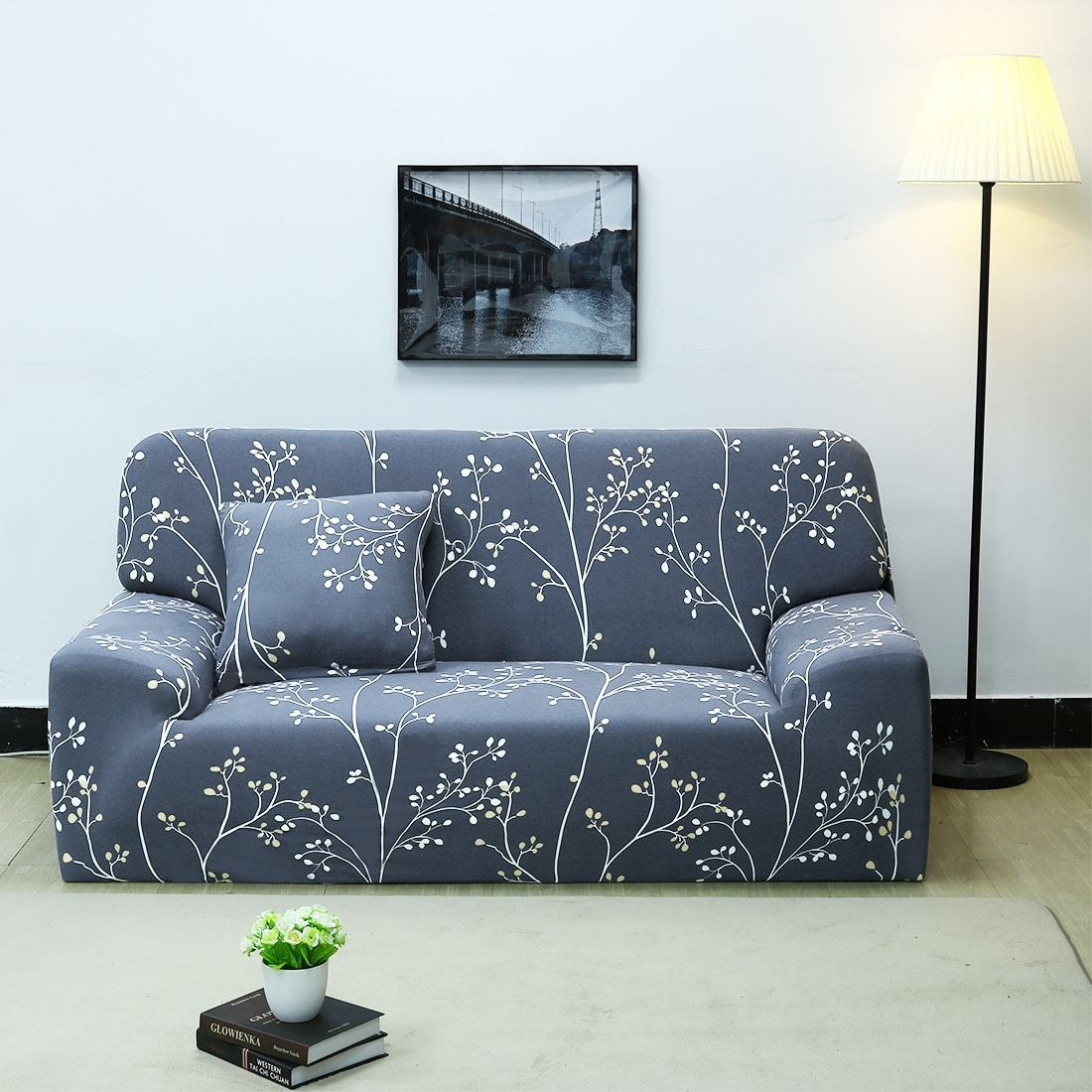 Shop Unique Bargains Polyester Stretch Loveseat Slipcovers 55 X 74
