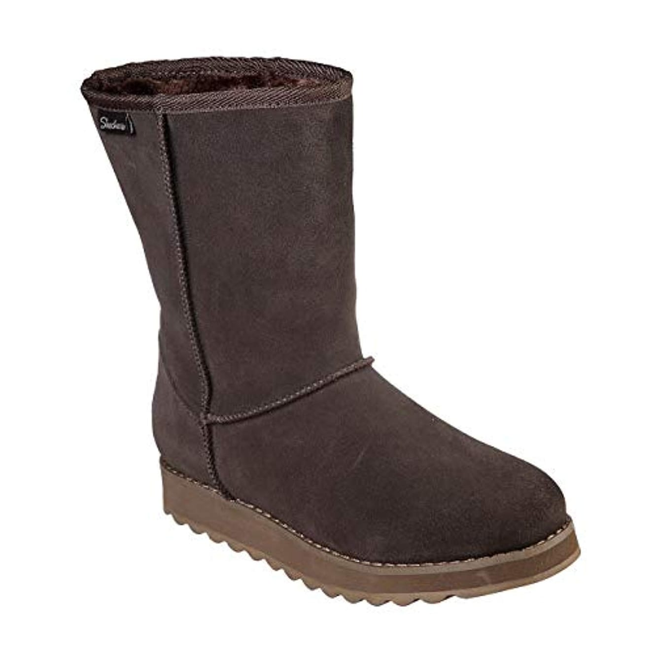 0d7aa183882 Skechers Keepsakes 2.0 First Flurry Womens Mid Calf Boots Chocolate 7