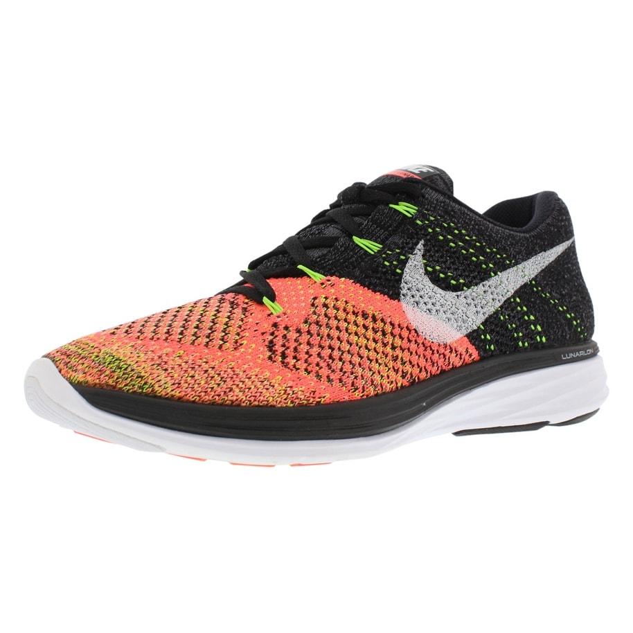 8cd124e52ad2d Shop Nike Flyknit Lunar 3 Running Women s Shoes - Free Shipping ...