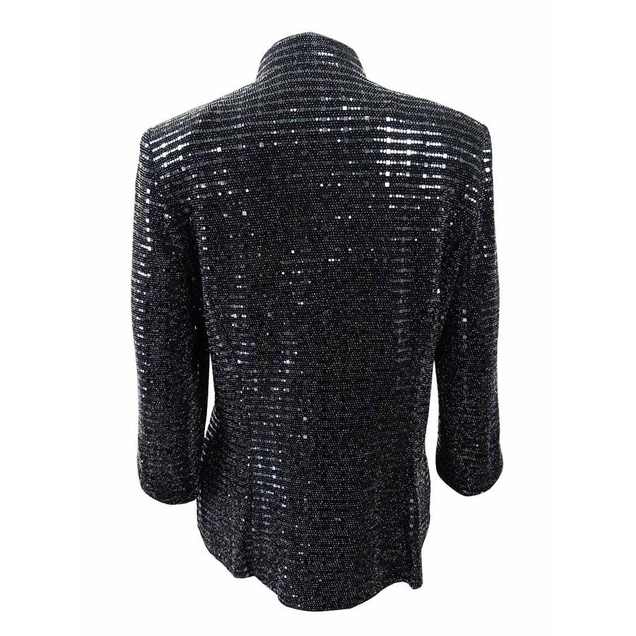 51b2296ca59 Shop Alex Evenings Women s Plus Size Sequined Jacket   Shell (2X ...