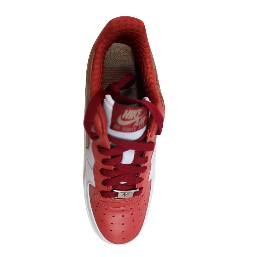 ae5938262f47 Shop Nike Air Force I 1 Premium NS White Pinenut-Terra Cotta-Team Red  Grade-School 315517-122 Size 6 Medium - On Sale - Free Shipping Today -  Overstock - ...