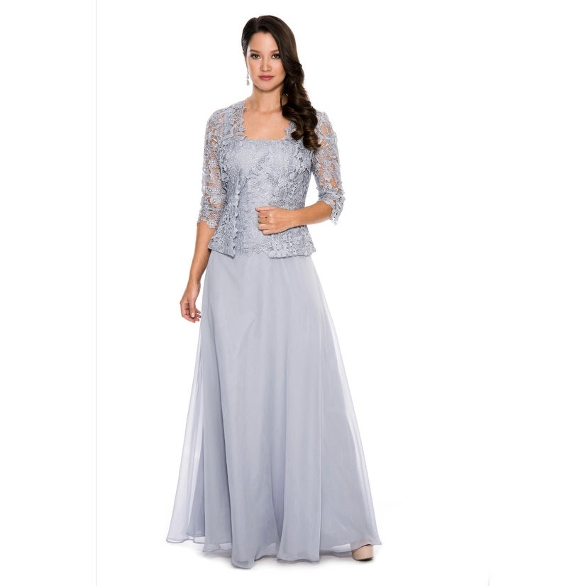 Shop Emma Street Two Piece Gown - Free Shipping Today - Overstock ...