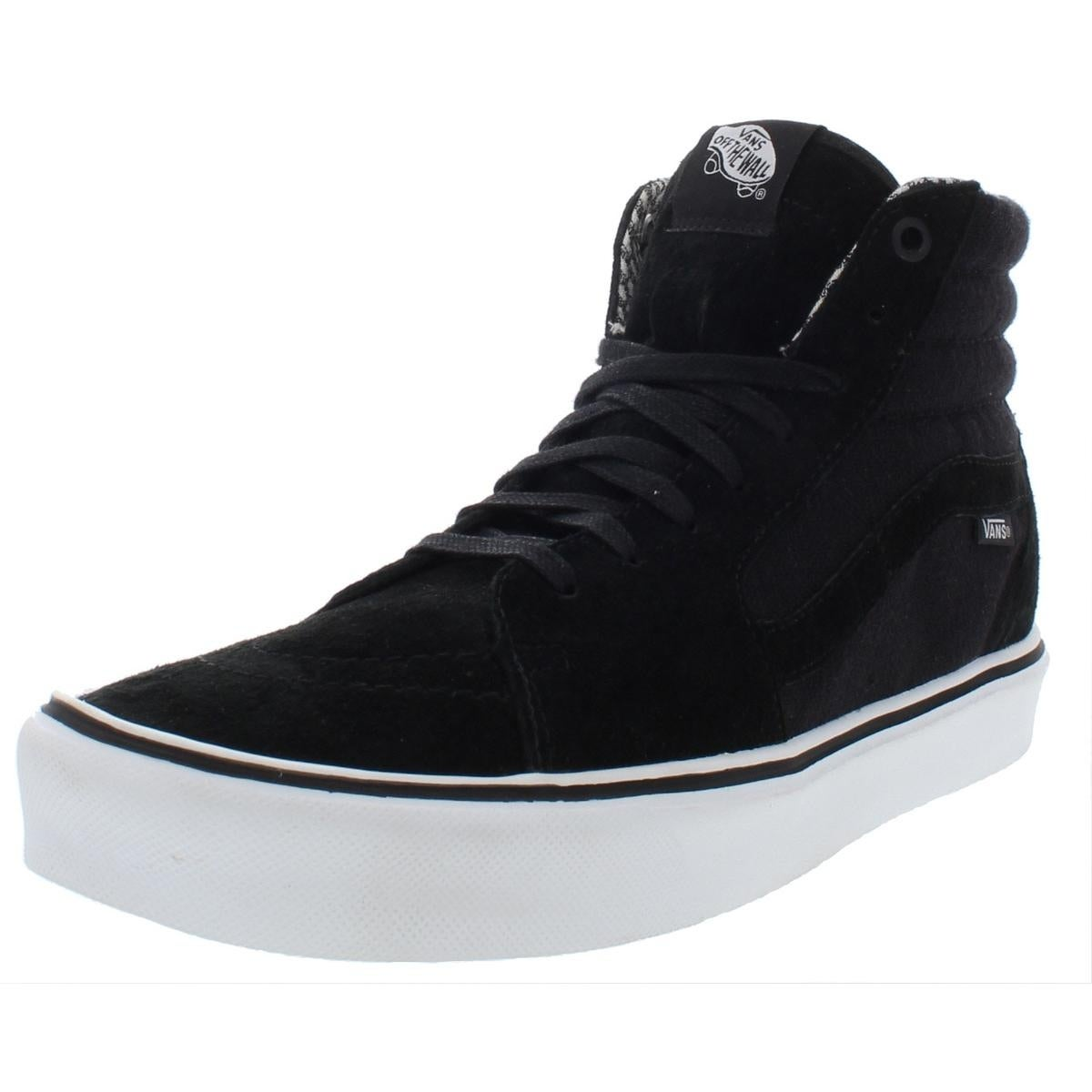 b0a8f662526805 Shop Vans Mens SK8-Hi Lite Skateboarding Shoes Suede Sport - Free Shipping  Today - Overstock - 27945794