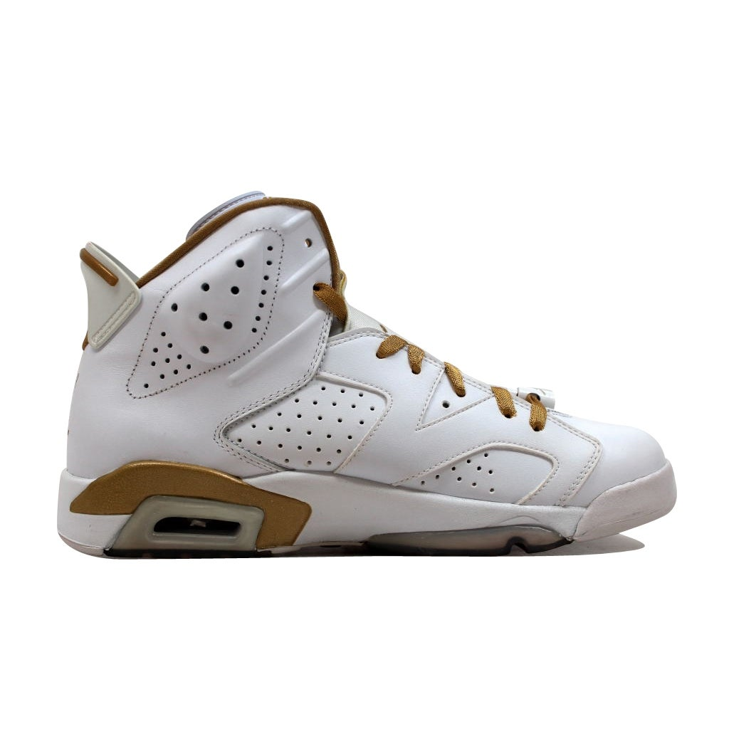 newest ad51a 404e1 Shop Nike Men s Air Jordan VI 6 Retro White Metallic Gold GMP Golden  Moments Pack 384664-135 - Free Shipping Today - Overstock - 20131724