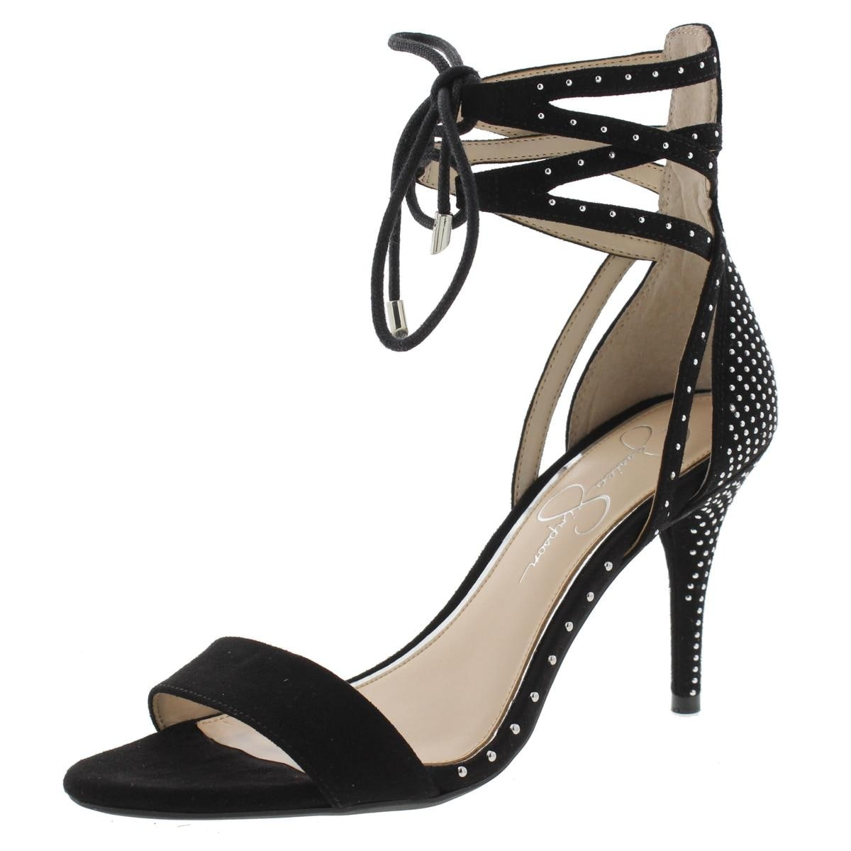945e98f98bc7 Shop Jessica Simpson Womens Maevi Gladiator Sandals Microsuede Studded -  Free Shipping On Orders Over  45 - Overstock - 14528961