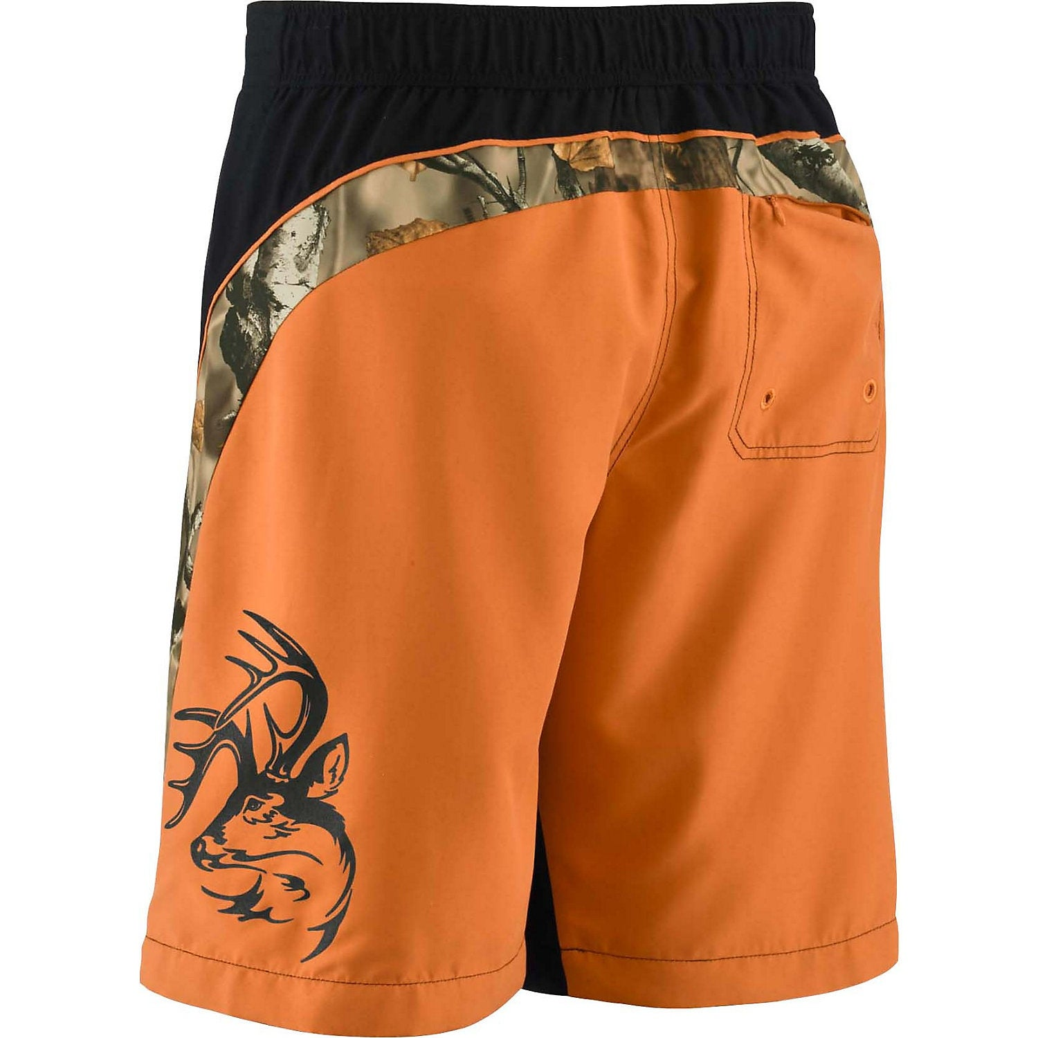 7e0fe6b351 Shop Legendary Whitetails Men's Big Game Camo Shoreline Swim Trunks - Free  Shipping On Orders Over $45 - Overstock - 14431677
