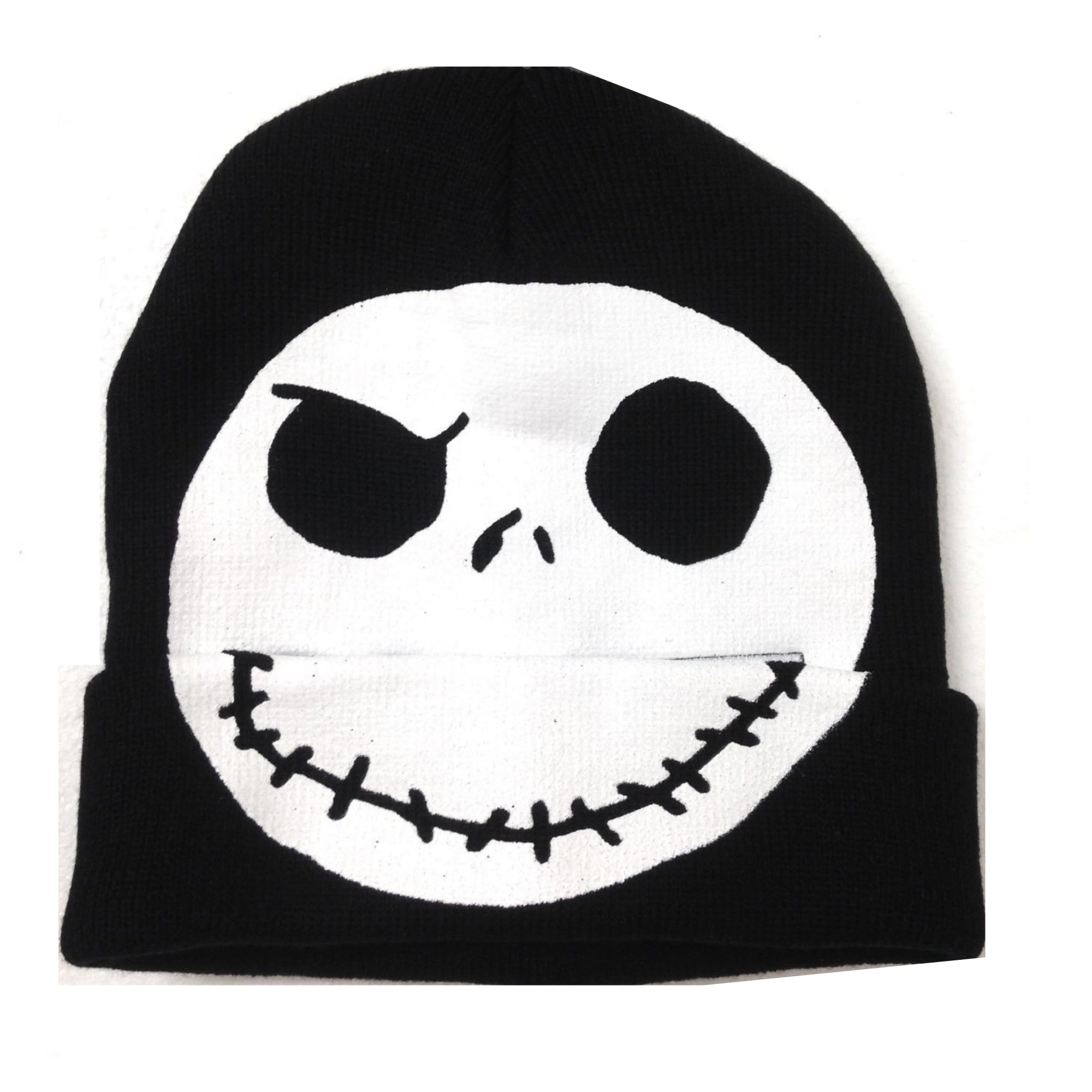 2a953cb46e0 Shop Disney Nightmare Before Christmas Jack Skellington Flip-Down Beanie  Hat - Free Shipping On Orders Over  45 - Overstock - 24784183