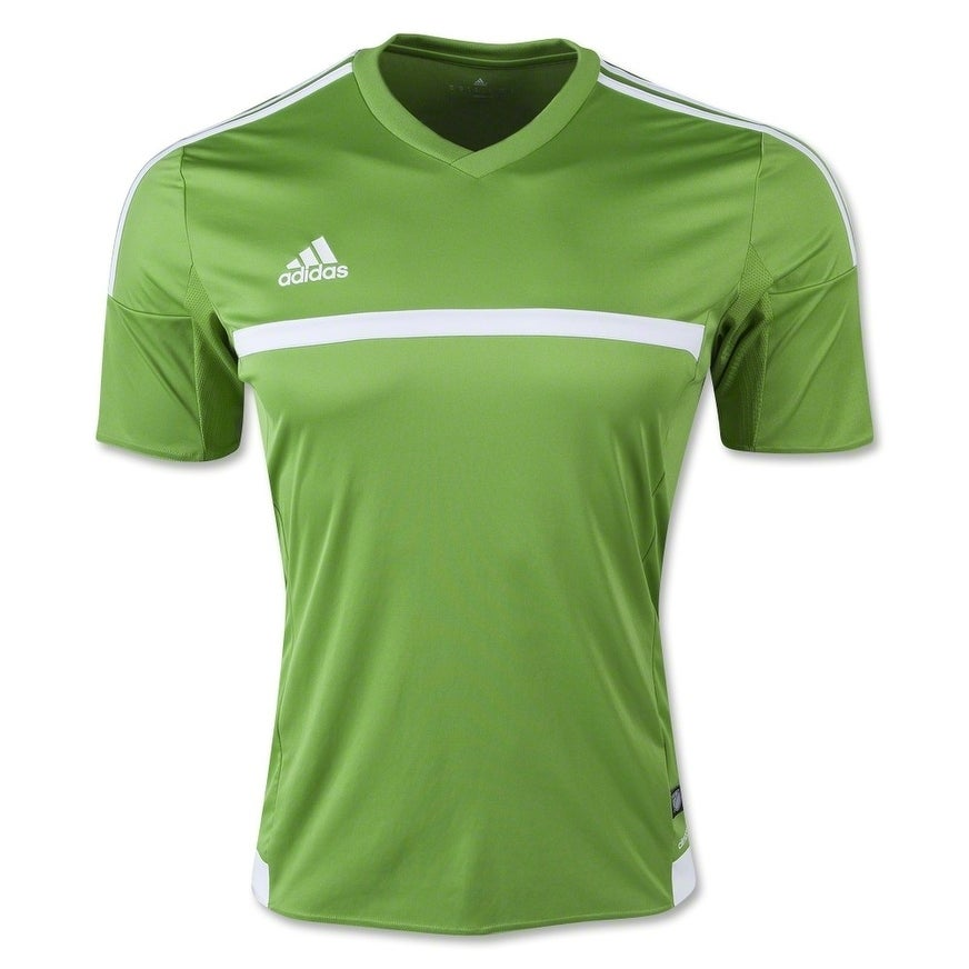 3c7b4efd75f Shop Adidas Men s MLS 15 Match Soccer Jersey T-Shirt Rave Green White -  Free Shipping On Orders Over  45 - Overstock - 25685945