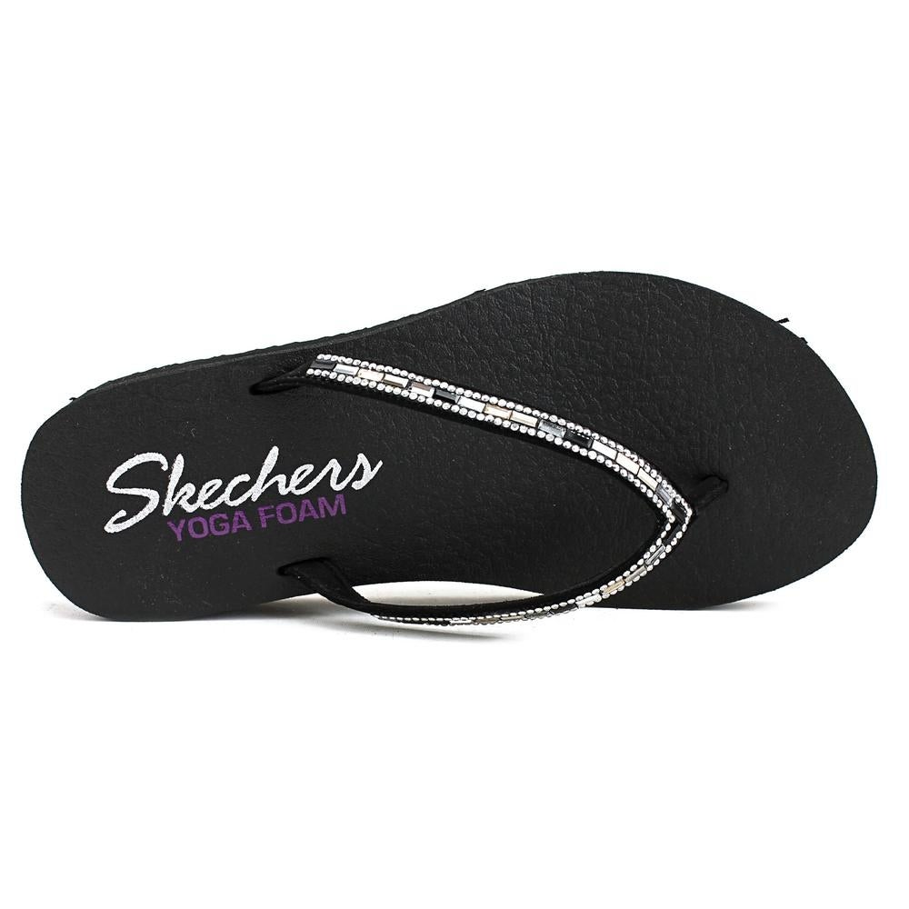 67f669604 Shop Skechers Meditation-Desert Princess Women Synthetic Black Flip Flop  Sandal - Free Shipping On Orders Over  45 - Overstock.com - 16303561