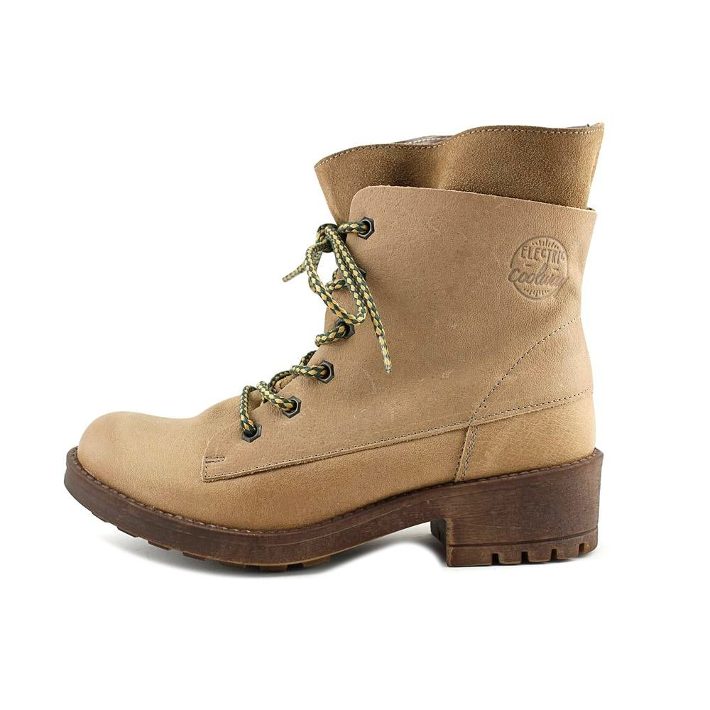 d254c63a9eb Shop Coolway Brooks Women Round Toe Leather Tan Boot - Free Shipping On  Orders Over  45 - Overstock - 18159798