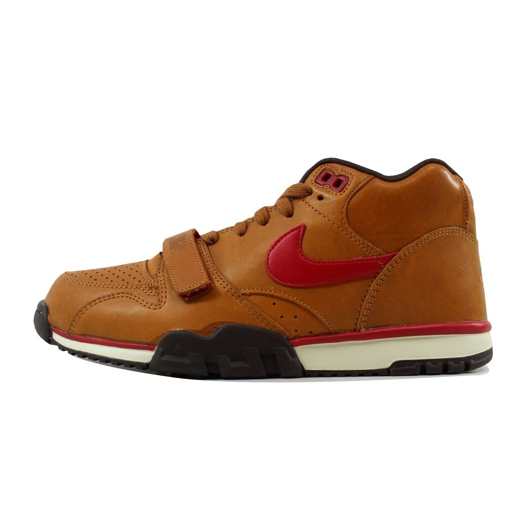 Nike Men's Air Trainer 1 Mid Premium Hazelnut/Gym Red-Baroque Brown-Birch  317553-200 Size 8 - Free Shipping Today - Overstock.com - 26918572