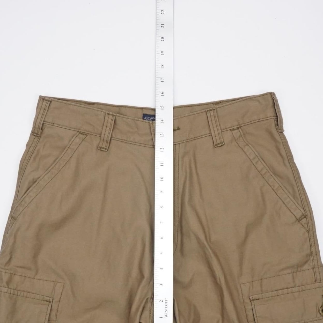 0bde48ce Shop LEVI STRAUSS Two Horse Cargo Shorts Brown Mens 32x11 - Free Shipping  On Orders Over $45 - Overstock - 23040198
