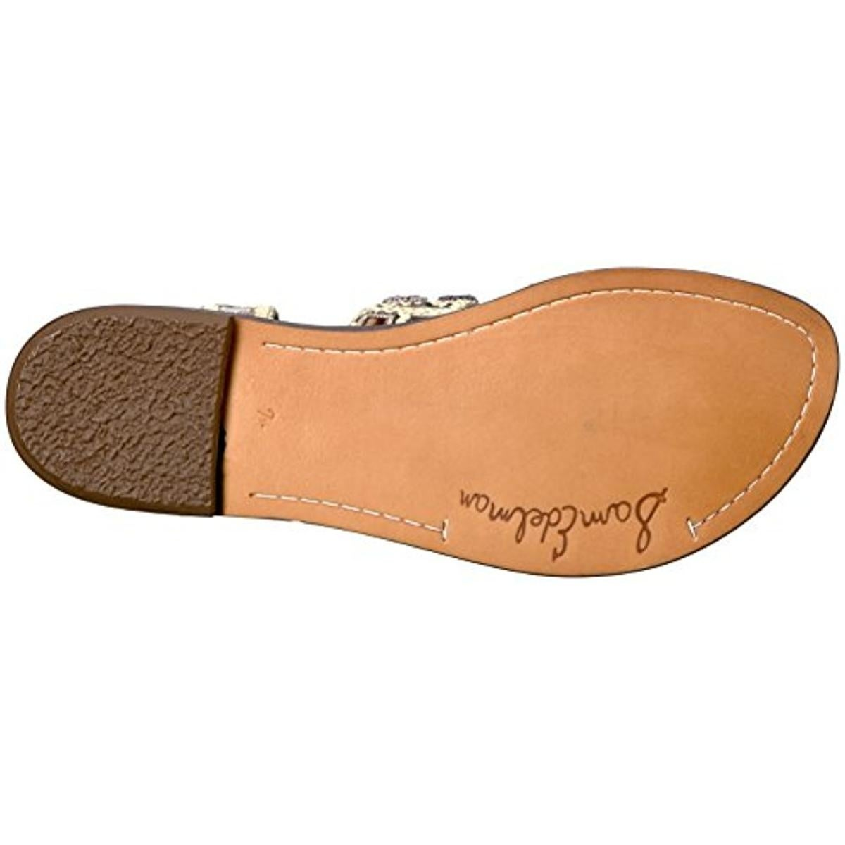 5070b746b336e9 Shop Sam Edelman Womens Gretchen Flat Sandals Canvas Leather - Free  Shipping On Orders Over  45 - Overstock.com - 21027054