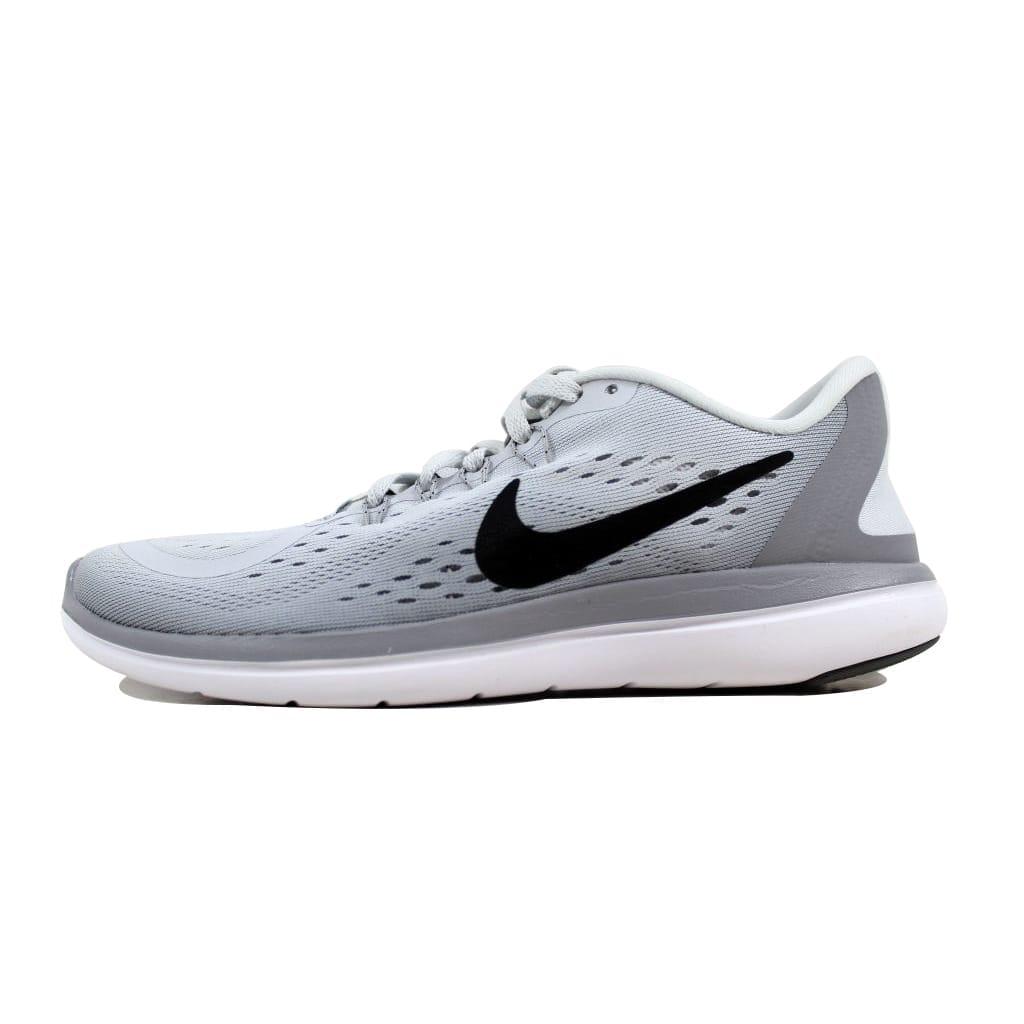 c214fd40c9b1 Shop Nike Women s Flex 2017 RN Pure Platinum Black-Wolf Grey 898476-002  Size 10.5 - Free Shipping Today - Overstock - 22340646