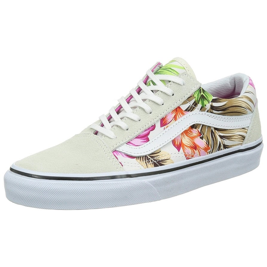 2b9120aa43 Shop Vans Womens Old Skool Low Top Lace Up Fashion Sneakers - Free Shipping  On Orders Over  45 - Overstock - 18539306