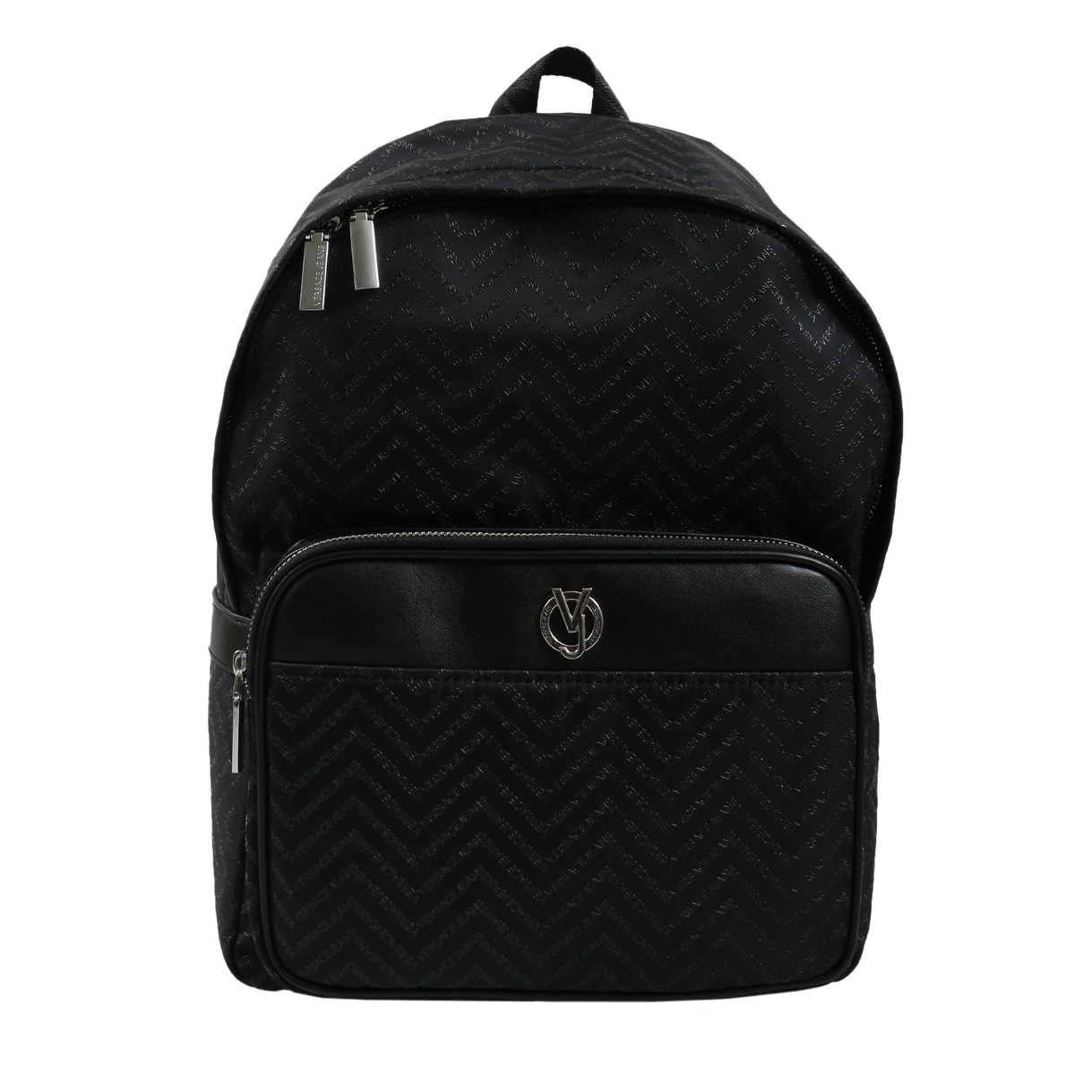 2ad275b7ca7f Shop Versace EE1YSBB15 E899 Black Backpack - 10.75-15.5-7 - Free Shipping  Today - Overstock - 25601599