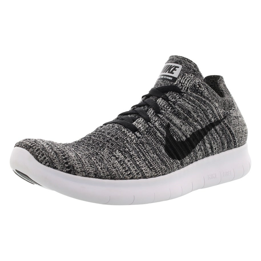 the latest 5c4a0 aa074 Nike Free Rn Flyknit (Gs) Running Boy s Shoes Size - 7 M