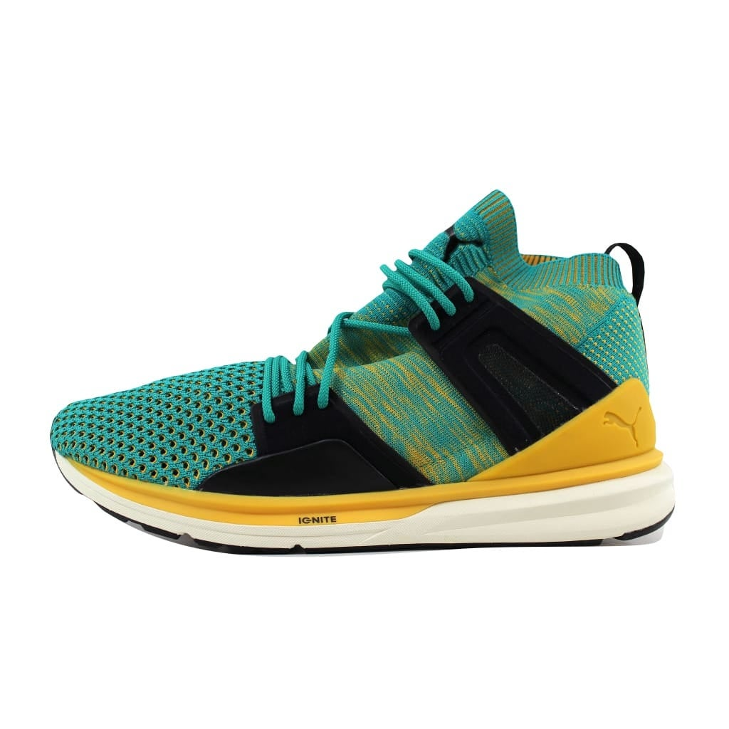 Shop Puma Men s BOG Limitless Hi EvoKnit Surf The Web High Risk Red-Whisper  White 363134 05 Size 10 - Free Shipping Today - Overstock - 21141376 7081c2f4a