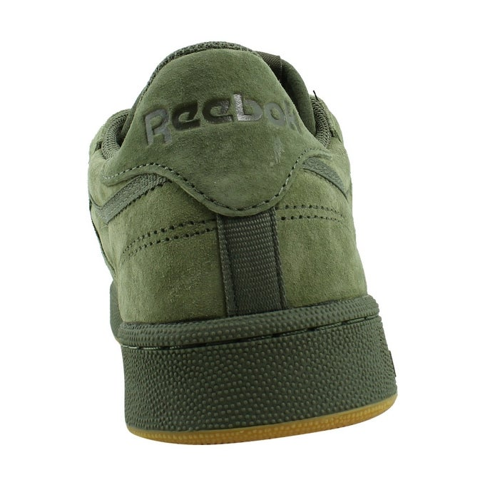 6793c2432093b2 Shop Reebok Mens Club C 85 Tg HunterGreen PoplarGreen-gum Fashion Shoes  Size 13 - On Sale - Free Shipping On Orders Over  45 - Overstock - 22900722