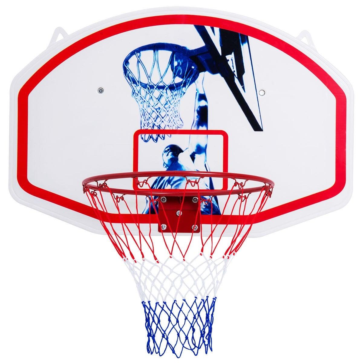 Gymax 35   x 24   Wall Mounted Mini Basketball Hoop Backboard   Rim Combo  Indoor Sports 86c2e2cdfa3d