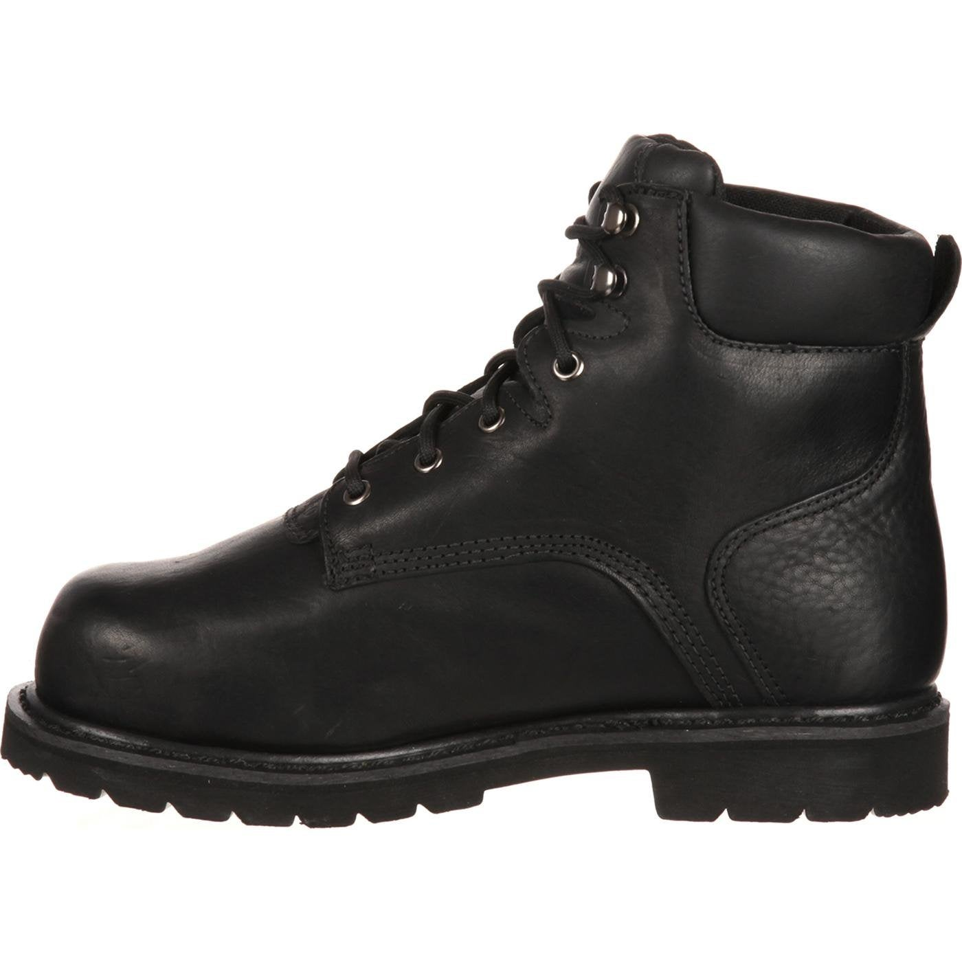 28f0d74db6ea Shop QUICKFIT Collection  Lehigh Safety Shoes Unisex Steel Toe Met Guard Waterproof  Work Boot - On Sale - Free Shipping Today - Overstock - 27165121