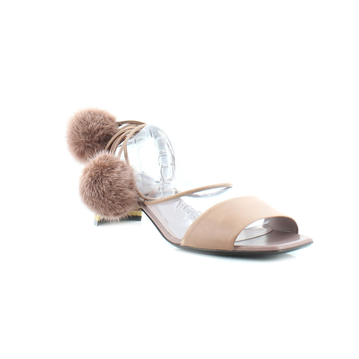 9db1c0cbae5ea7 Shop Gucci Betis Glamour Women s Sandals Light Mauve - 9 - Free Shipping  Today - Overstock - 20098766