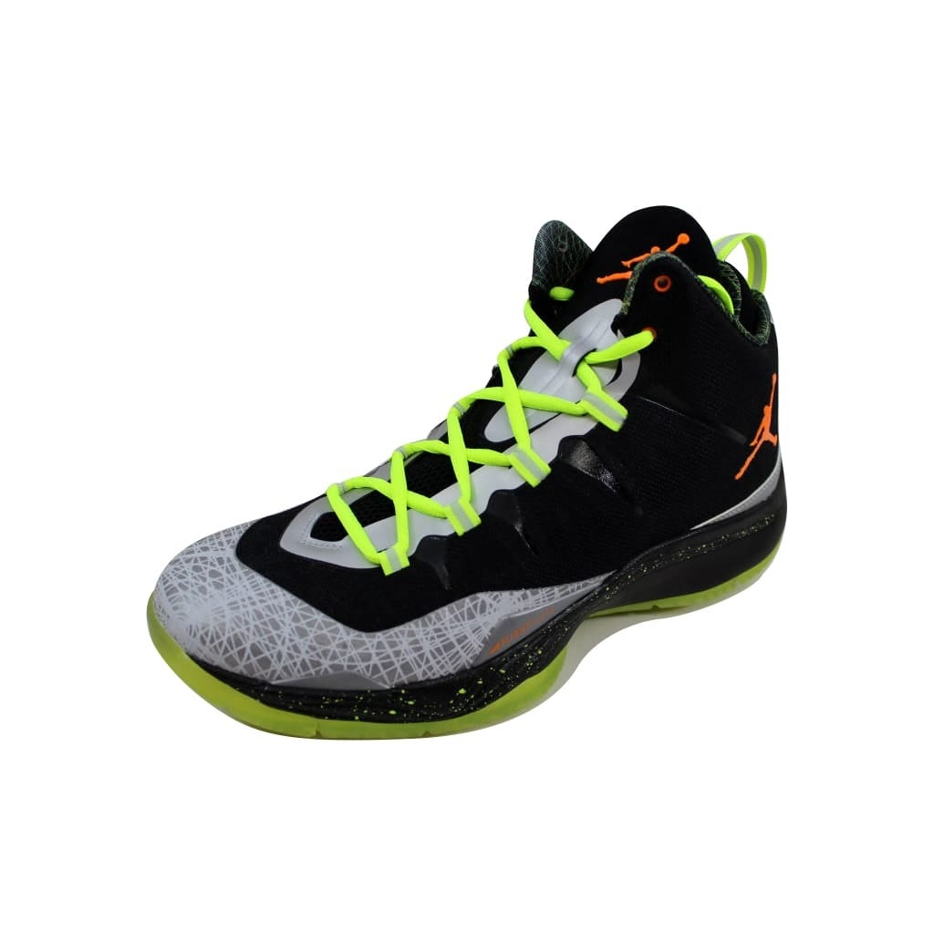 best website d04bf 0dd5b Nike Men s Air Jordan Super.Fly 2 Christmas Black Total Orange-Reflect  Silver 640315-025