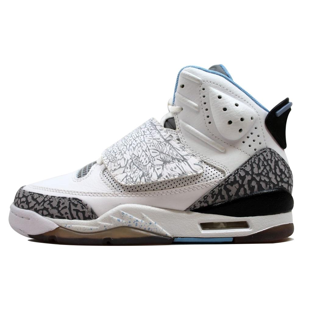pretty nice add10 0bb80 Shop Nike Grade-School Air Jordan Son Of Mars White Prism Blue-Wolf Grey-Black  512242-109 - Free Shipping Today - Overstock - 19508195