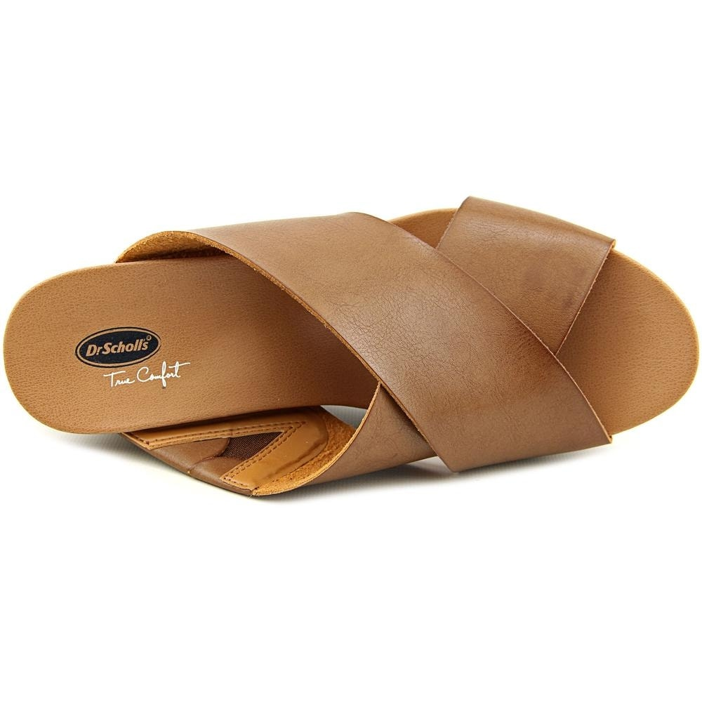 12c0c546f Shop Dr. Scholl s Mix It Women Open Toe Synthetic Brown Wedge Heel - Free  Shipping On Orders Over  45 - Overstock - 14240852