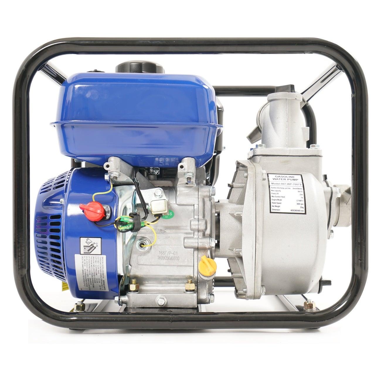 Shop Arksen 65 Hp 2 Gas Power Semi Trash Water Pump Drain 132gpm Horsepower 4 5 Model 5hp Stroke Flood Irrigation Ships To Canada 15912324