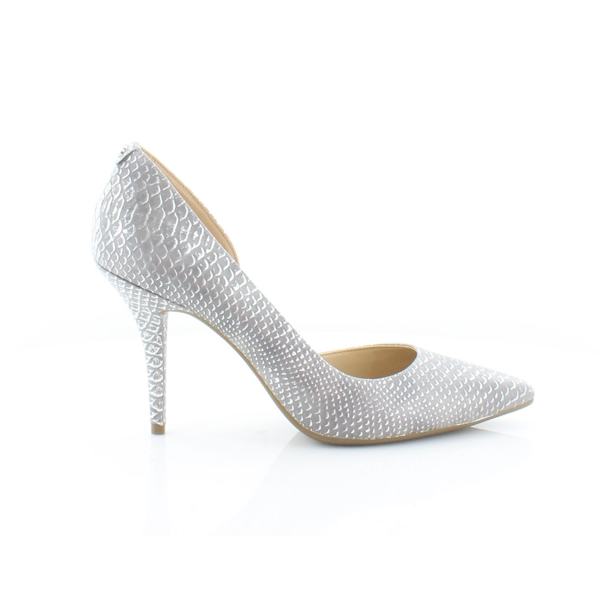 d1f5e5a99f Shop Michael Kors Nathalie Flex Pump Women's Heels Silver - Free Shipping  Today - Overstock - 28306728