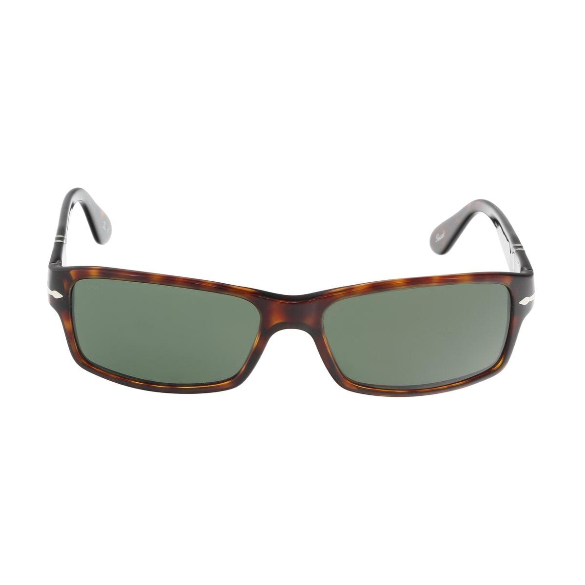159ef761e0da1 Shop Persol PO2747S 24 31 Brown Gold Rectangle Sunglasses - 57-16 ...
