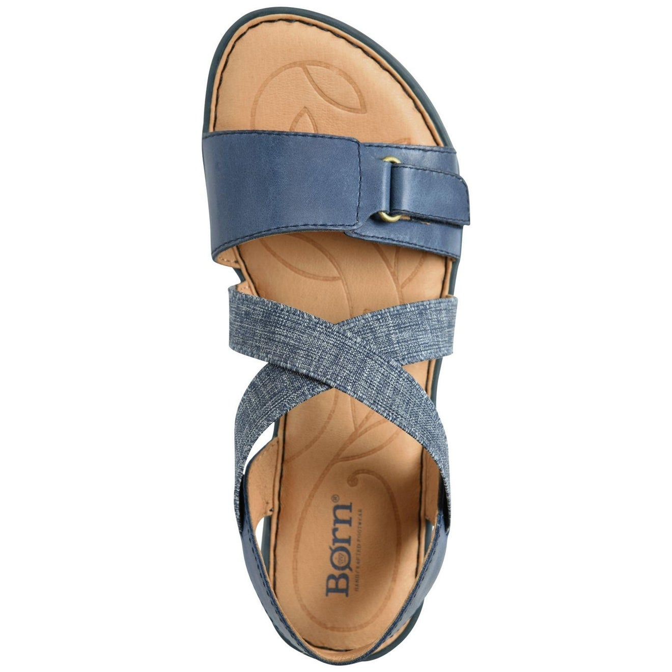 455686d51b0e Shop Born Womens Britton Leather Open Toe Casual Slide Sandals - Free  Shipping Today - Overstock - 17802807