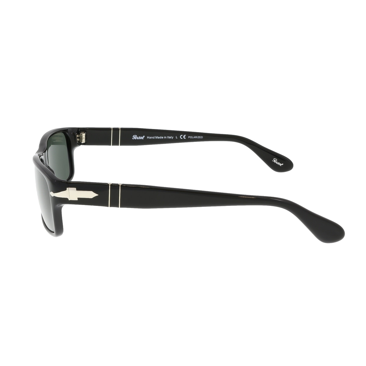 32f1285feb Shop Persol PO2747S 95 48 Black Rectangle Sunglasses - 57-16-140 - Free  Shipping Today - Overstock - 17646142