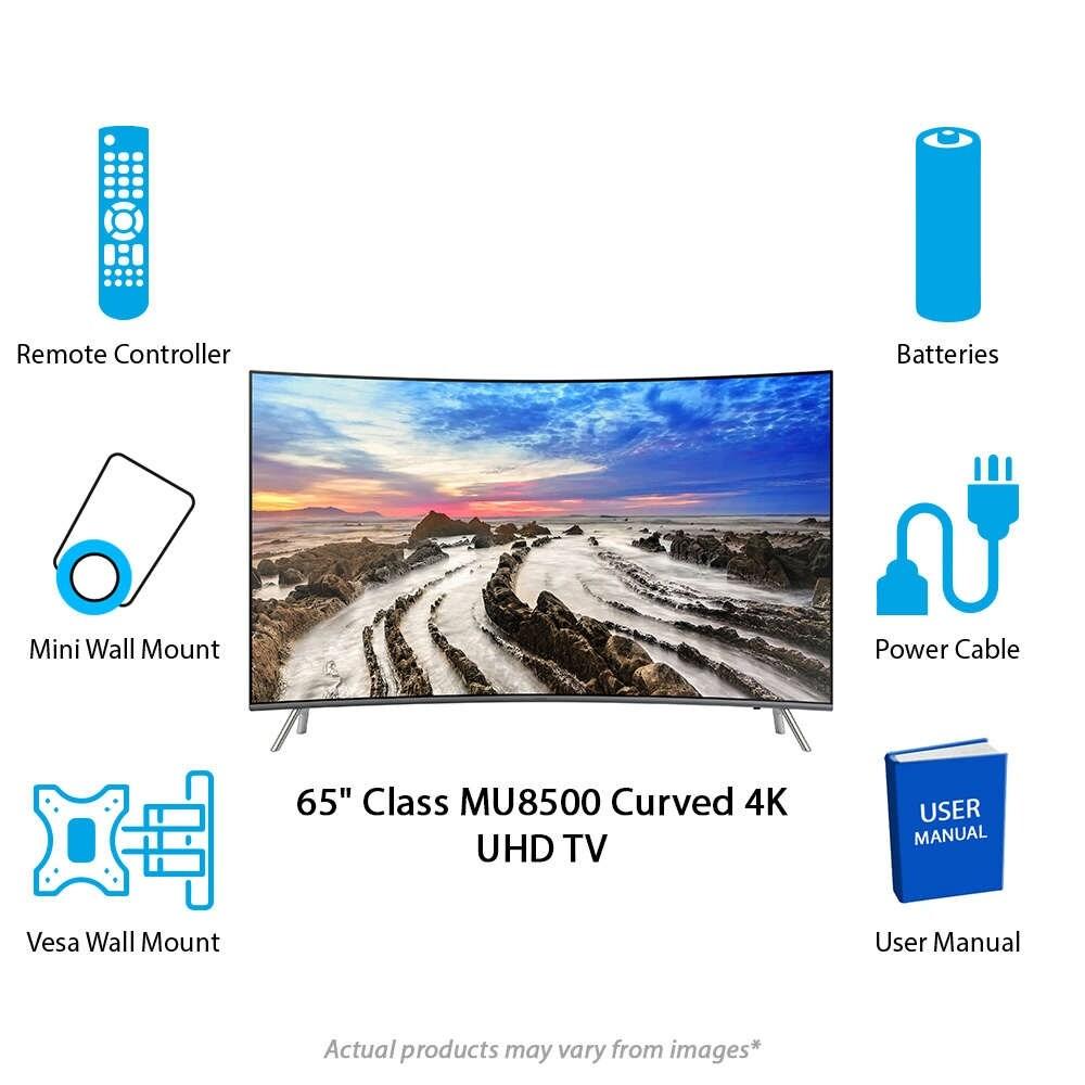 Samsung 65 Inch 4k Curved Tv 8500