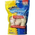 Dingo Brand Chicken & Rawhide Small Dental Bone 6 ea