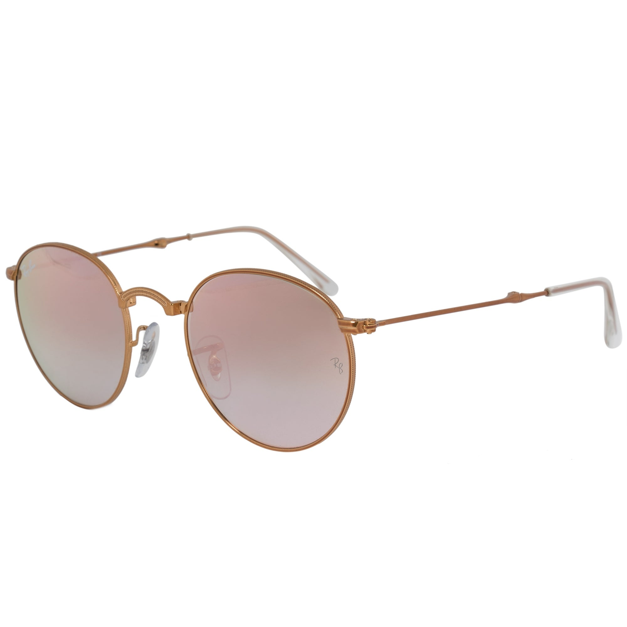 f9f208b36c1cc ... usa shop ray ban round folding sunglasses rb3532 1987y 47 bronze copper  frame copper gradient flash