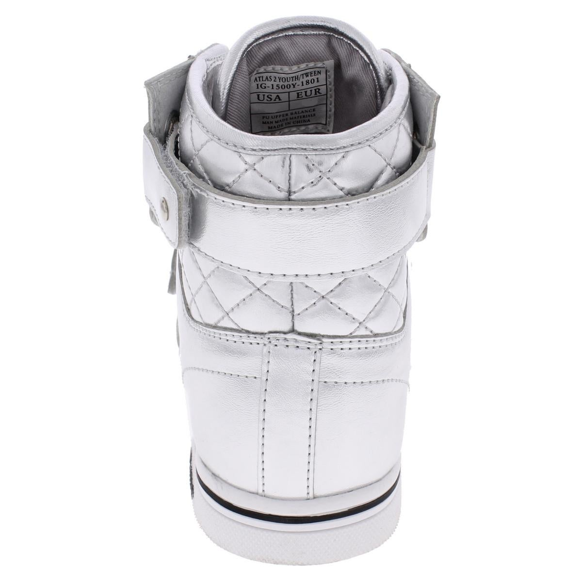 de8ba60c55aa Shop Vlado Boys Atlas II Fashion Sneakers Quilted High Top - Free Shipping  On Orders Over  45 - Overstock - 20546079