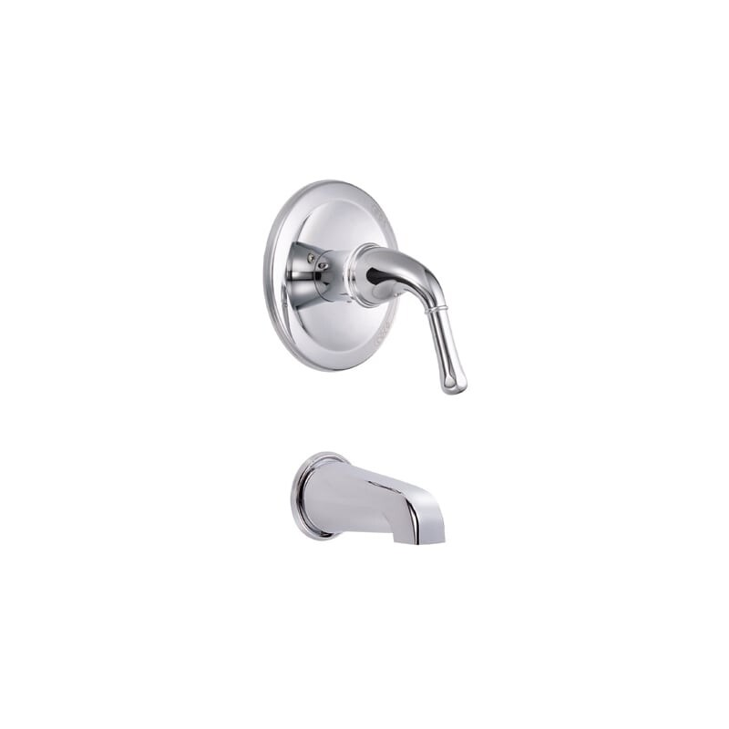 Shop Danze D500671T Pressure Balanced Tub Trim Package From the ...