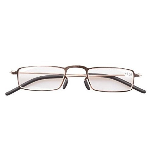 197b056164 Shop Eyekepper 5-Pack Thin Stamped Metal Frame Half-eye Style Reading  Glasses+3.0 - Free Shipping On Orders Over  45 - Overstock.com - 15920065