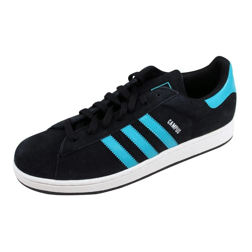 Shop Adidas Men s Campus II 2 Black Green-White Size 11.5 - Free ... e74b1f775