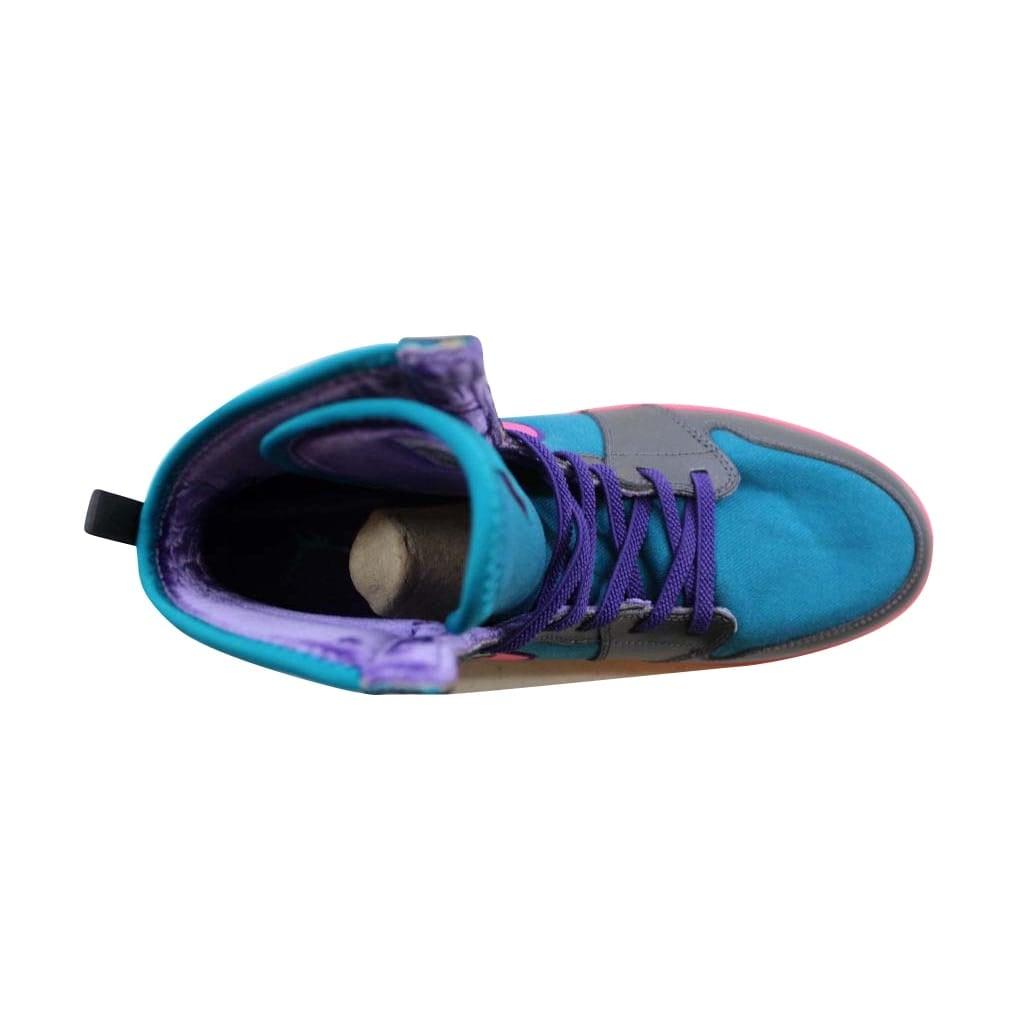39385dc90b5 Shop Nike Air Jordan 1 Skinny High Tropical Teal Digital Pink-Metallic Dark  Grey 602656-309 Grade-School - Free Shipping Today - Overstock - 22531333