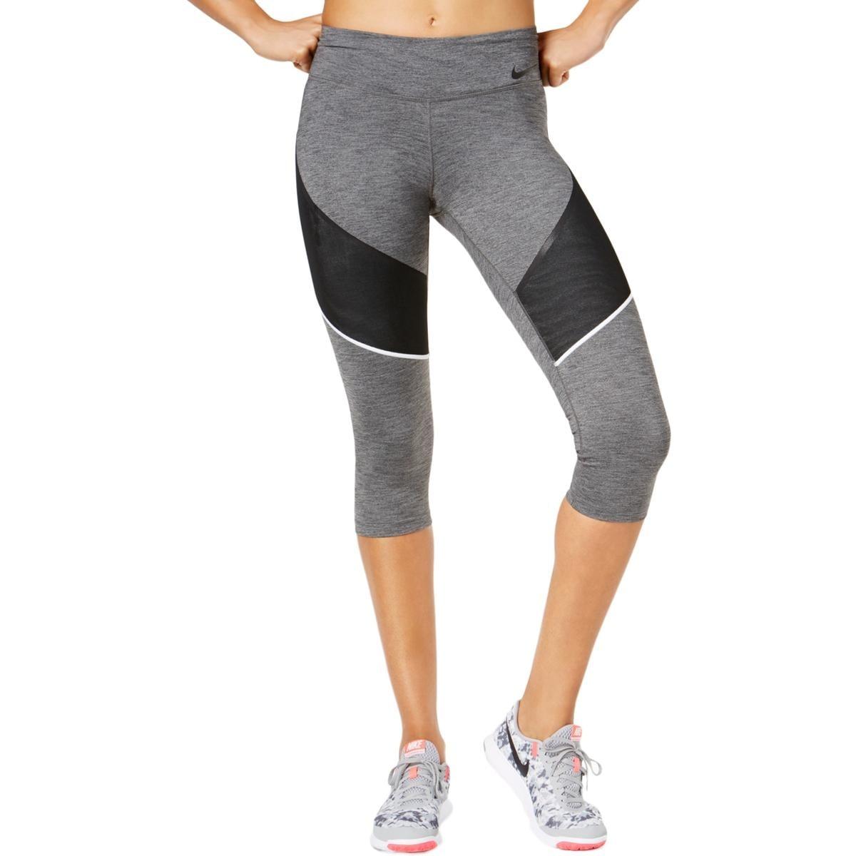 ec4e42aeded43 Shop Nike Womens Capri Pants Training Fitness - S - Free Shipping On ...